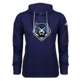 Adidas Climawarm Navy Team Issue Hoodie-Tiger Head
