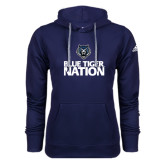 Adidas Climawarm Navy Team Issue Hoodie-Blue Tiger Nation