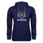 Adidas Climawarm Navy Team Issue Hoodie-Basketball
