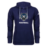 Adidas Climawarm Navy Team Issue Hoodie-Football