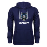Adidas Climawarm Navy Team Issue Hoodie-Grandpa