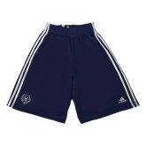 Adidas Climalite Navy Practice Short-Tiger Head