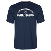 Syntrel Performance Navy Tee-Blue Tigers Football Half Ball