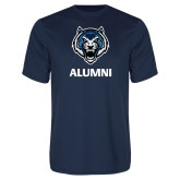 Syntrel Performance Navy Tee-Alumni