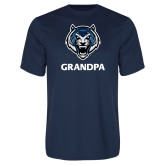 Syntrel Performance Navy Tee-Grandpa