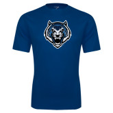 Syntrel Performance Navy Tee-Tiger Head
