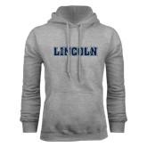 Grey Fleece Hoodie-Lincoln