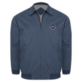 Navy Players Jacket-Tiger Head
