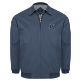 Navy Players Jacket-Interlocking LU