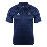 Adidas Climalite Navy Jaquard Select Polo-Interlocking LU