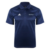 Adidas Climalite Navy Jaquard Select Polo-Lincoln