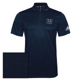 Adidas Climalite Navy Grind Polo-Interlocking LU