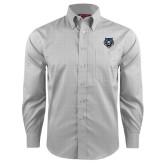 Red House Grey Plaid Long Sleeve Shirt-Tiger Head