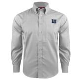 Red House Grey Plaid Long Sleeve Shirt-Interlocking LU