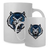 Full Color White Mug 15oz-Tiger Head