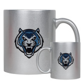 Full Color Silver Metallic Mug 11oz-Tiger Head