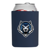 Collapsible Navy Can Holder-Tiger Head