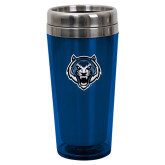Solano Acrylic Blue Tumbler 16oz-Tiger Head