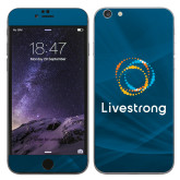 iPhone 6 Plus Skin-Livestrong Stacked