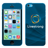 iPhone 5c Skin-Livestrong Stacked