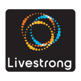 Medium Decal-Livestrong Stacked