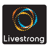 Large Decal-Livestrong Stacked