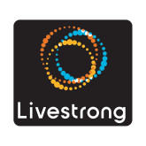 Small Decal-Livestrong Stacked