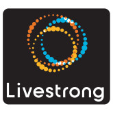 Extra Large Decal-Livestrong Stacked