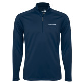 Syntrel Navy Interlock 1/4 Zip-LIVESTRONG