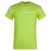 Lime Green T Shirt-Wordmark