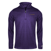 Russell Purple Heather 1/4 Zip-LIVESTRONG