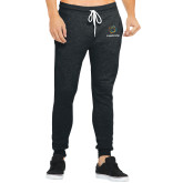 Bella Canvas Charcoal Heather Joggers-Livestrong Stacked
