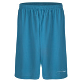 Performance Classic Light Blue 9 Inch Short-Wordmark