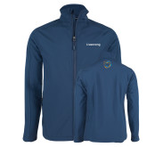 Navy Softshell Jacket-Livestrong Wordmark