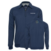 Navy Players Jacket-Livestrong Wordmark