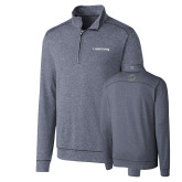 Cutter & Buck Shoreline Navy 1/2 Zip-Livestrong Wordmark
