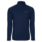 Sport Wick Stretch Navy 1/2 Zip Pullover-LIVESTRONG