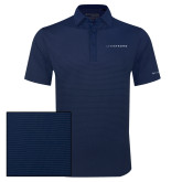 Columbia Navy Omni Wick Sunday Golf Polo-Wordmark