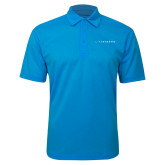 Brilliant Blue Silk Touch Performance Polo-Wordmark