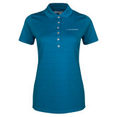 Ladies Callaway Opti Vent Sapphire Blue Polo-LIVESTRONG