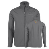 Charcoal Softshell Jacket-Livestrong Wordmark