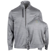 Callaway Stretch Performance Heather Grey Jacket-Livestrong Wordmark