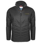 Columbia Mighty LITE Charcoal Jacket-Wordmark