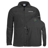 Columbia Full Zip Charcoal Fleece Jacket-Livestrong Wordmark