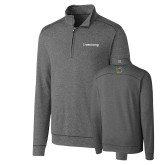 Cutter & Buck Shoreline Charcoal 1/2 Zip-Livestrong Wordmark