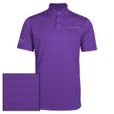 Callaway Opti Vent Purple Polo-Wordmark