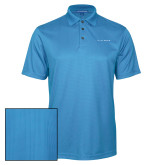 Light Blue Performance Fine Jacquard Polo-LIVESTRONG