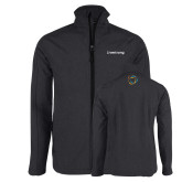 Charcoal Heather Softshell Jacket-Livestrong Wordmark