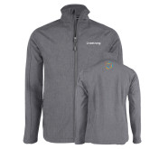 Grey Heather Softshell Jacket-Livestrong Wordmark