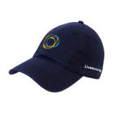 Navy Twill Unstructured Low Profile Hat-Livestrong Co-Branded